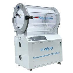 1.4ATA Instrumento Veterinaria Animal perro de la cámara de oxígeno hiperbárico