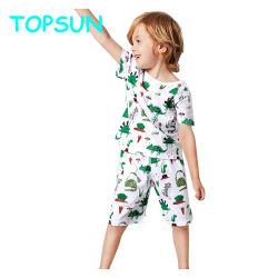 Toddler garçons Jeu d'impression de dessins animés Kids pyjamas 100% coton pyjama pour bébé
