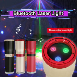 Мини-ди-джей-участник световой эффект лазерный проектор звука активирована на дискотеке праздник