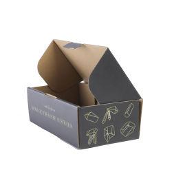 Recyclebaar Logo Op Maat Verzending Van Black Cardboard Box