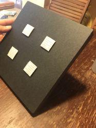 8x8pol., 20mm de material de espuma preta adesiva para montagem de foto