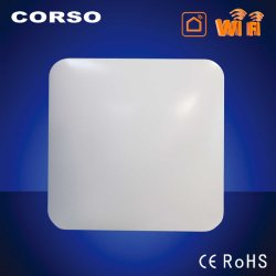 Le WiFi, type carré LED ultra-fin de lumière au plafond,Remote,app,ai,réglable,TDC,SGS CE LVD EMC pour Smart Home de l'éclairage (Alexa,Accueil Google)sans scintillement Lampe intérieure