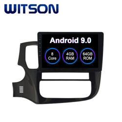 Speler van 9.0 Auto DVD van Witson de Androïde voor het Grote Scherm van de Flits van de RAM Outlander van Mitsubishi 2015-2017 4GB 64GB in de Speler van de Auto DVD