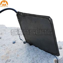 A extração do bloco da pedra mármore Descarnadora Hydro bag bolsa de água Saco de Aço