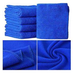 Lavage en microfibres serviettes propres chiffons de nettoyage