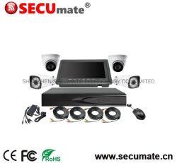 أطقم DVR بدقة 1080p ودقة 2 ميجابكسل للأمان المنزلي بدقة CCTV 4CH Ahd