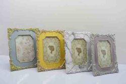 Diseño de Moda de Baño de alta calidad de resina Oval espejo de pared