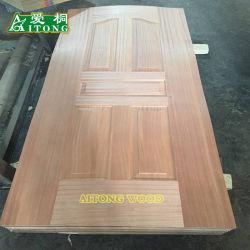 Chapa de madera diseñados Sketch frente de la piel de la puerta