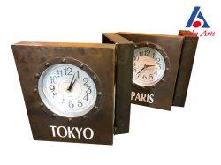 Металлические складного стола часы с 4 часов