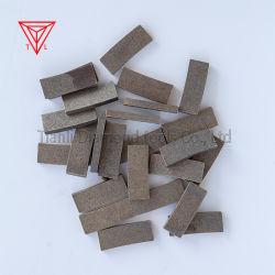 A China a mineração de Fábrica Diamond Lâmina de Corte Segmentos de ferramentas de granito e mármore Moorstone Rock pedra de concreto