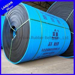Général de la courroie d'interminables nn100-500 de tissu de nylon plat courroies transporteuses en caoutchouc pour la vente