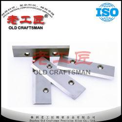 Cuchillo del carburo de tungsteno de la alta precisión para las herramientas de la carpintería