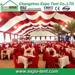 Grande piscine avec doublure décoration de tentes de Dubaï