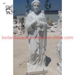 정원 조각된 그리스 여성 그림 종교적 대리석 조각 MSD-06