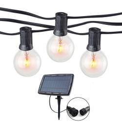 G40 солнечной патио Рождество String лампа