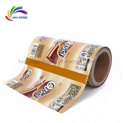 Impressão personalizada de revestimento plástico Biscuit Embalagem de Chocolate/ acondicionamento de embalagem sachê de Bolsa de filme de Rolo
