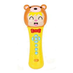 Het elektrische Stuk speelgoed van de Microfoon van het Karton van het Instrument van het Stuk speelgoed van de Muziek Muzikale (H10883023)