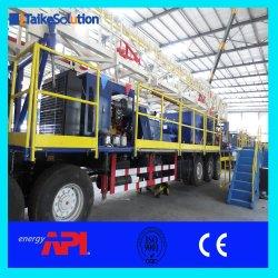 Norma API do campo de petróleo e gás e óleo do orifício móvel montado no veículo Zj30 750HP Perfuraçaäo e Workover Rig