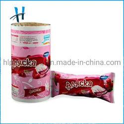 Zoll druckte Nahrungsmittelverpackungs-Plastiktasche-lamellierten packenden Rollenfilm
