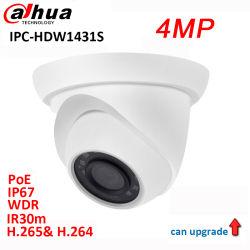 Dahua original 4MP WDR CCTV IR 30m de la cámara IP de red Ipc-Hdw1431s