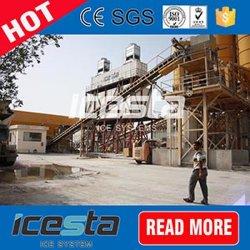 Große Kapazität 1 Tonne bis 100 Tonne Containerized Flocken-Eis-Maschine für konkretes Kühlsystem mit automatischem Rührstange-Raum
