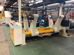 Type de rouleau de papier du rabatteur hydraulique titulaire Shaftless Mill rouler le banc