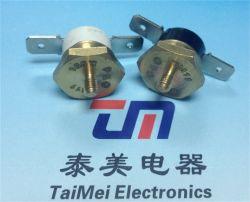 Commerce de gros commutateur électronique Ksd301gr Snap-Action Thermostat céramique Commutateur de température de réinitialisation manuelle