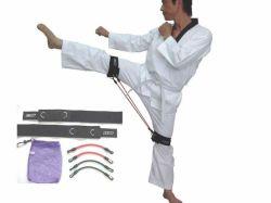 Arts martiaux vitesse cinétique de l'agilité de la formation de la jambe de bandes de résistance La résistance de tubes en latex