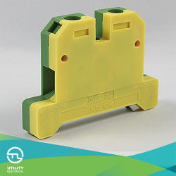 Échouement Jut2-10PE Les blocs de la cosse de masse du connecteur de câblage