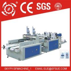 Dfr 450X2 zwei Zeile Heißsiegelfähigkeit-Wärme-Ausschnitt-Beutel, der Maschine herstellt