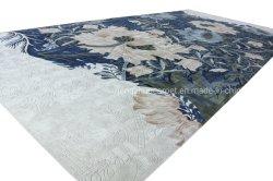 Lã de nylon de acrílico de seda de viscose tapete tapetes tufados do lado do Hotel