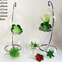 Copo de vidro de Flower House Viveiro decoração de vidro