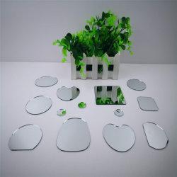 De 1,1 mm 1,0 mm 1,2 mm 1,3 mm de 45mm corte pequeño espejo de madera de plástico armazón de metal