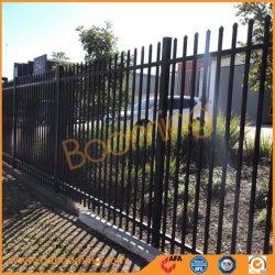 Noir 2.1 ordinaire*2,4 Revêtement en poudre clôture de sécurité