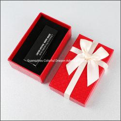 선물 포장 상자를 인쇄하는 중국 제조자 아트지 보석 수송용 포장 상자 주문 장식용 로고