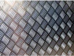 Aluminium plaat met heldere afwerking voor aanhanger
