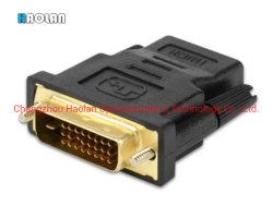HDMI het Mannetje van de Adapter DVI 24+1 aan 3D HDMI Vrouwelijke 1080P