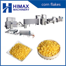 Automatische industrielle Frühstückskost aus Getreide stieß Imbiss-Extruder-aufbereitende Zeile luft