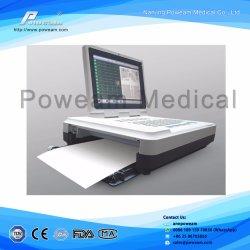 Máquina de ECG de 6 canales, 12 Lleva 6 canales MONITOR DE ECG, máquina de ECG con pantalla LCD de 7 pulg.