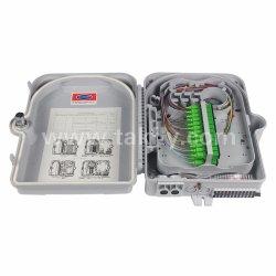 24 coeurs Sc PLC en queue de cochon Splitter Boîtier de terminaison à fibres optiques/OTB/boîte d'épissure
