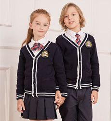 良質の編まれた小学校はセーターをからかう