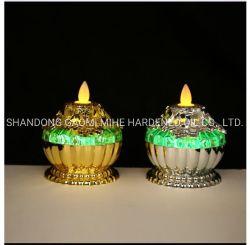 Caixa de oferta e mudança de cor velas LED, lâmpadas vela, Vela