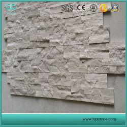 Weißer hölzerner Marmor/hölzerner weißer Marmor/weißer Marmorkultur-Stein
