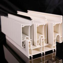 إطار PVC منزلق ثلاثي المسارات / UPVC للنوافذ والأبواب