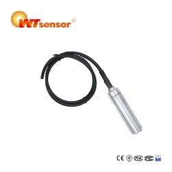 スマートな情報処理機能をもった浸水許容の液体か水位の送信機のプローブPCM266