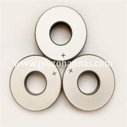 Pzt5 materiale Piezo anello in ceramica per Tonpils Transduser