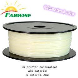 ABS Plastic Extruder 3D Filament 3D Printer Reprap/Makerbotのための1.75 Mm/3mm