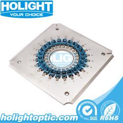 Porta 24 Sc Gabarito de polimento de fibra óptica para PC/dispositivo de fixação para o tipo de máquina de polimento de quadrados