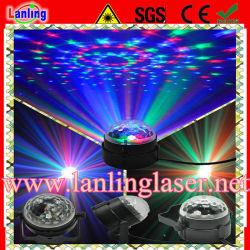 Дешевые 3W RGB Auto Sound для использования внутри помещений Magic LED Crystal шаровой шарнир