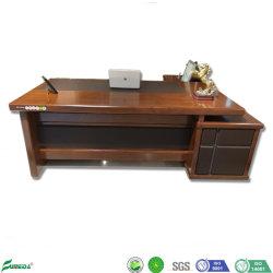 Chapa de madera nuevos muebles de oficina en forma de L Oficina Ejecutiva el Cuadro B1708)